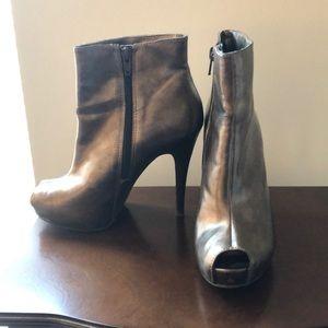 Carlos high heeled booties - Vegan Leather